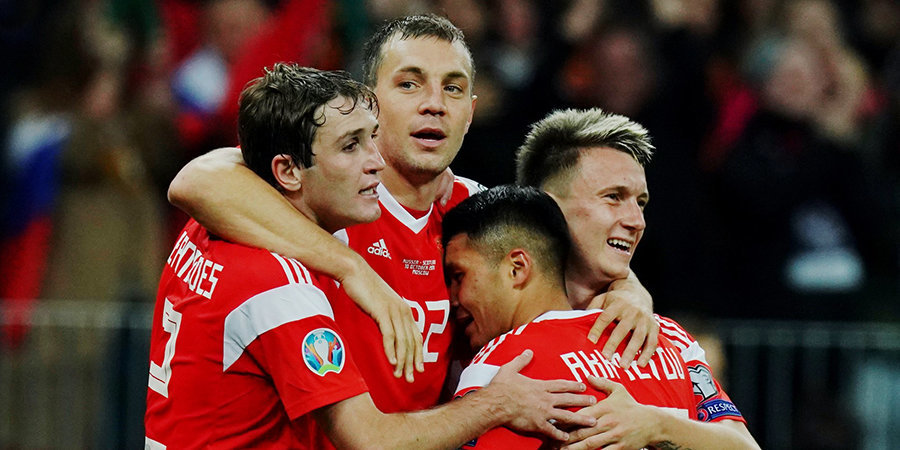 Стал известен календарь матчей сборной России в Лиге наций