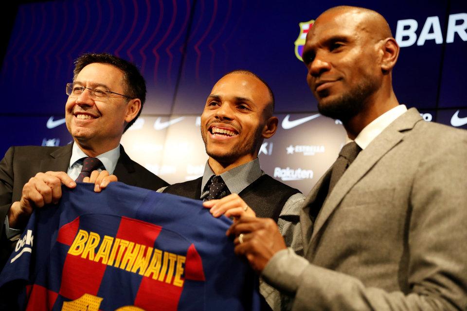 Президент «Барселоны» признал, что трансфер Брейтуэйта навредил «Леганесу»