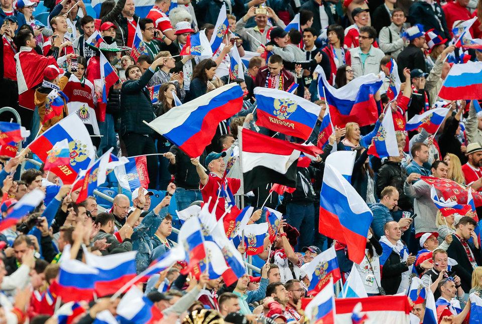 Матч Россия — Египет в Петербурге прошел без нарушений общественного порядка