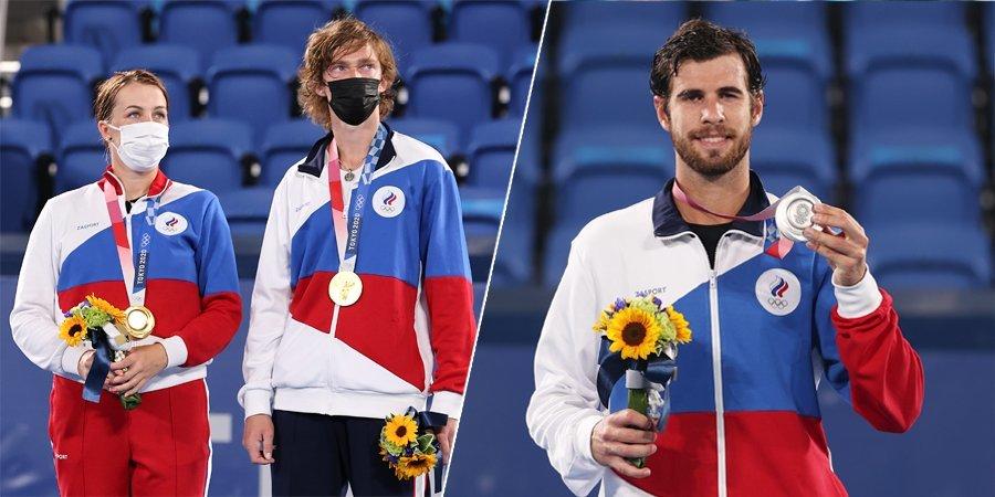 Самый успешный день в истории российского тенниса: победа Павлюченковой и Рублева над Весниной и Карацевым + серебро Хачанова