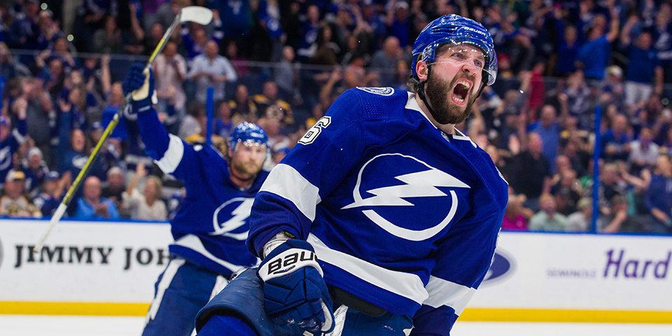Кучеров сместил Овечкина с третьего места в рейтинге лучших хоккеистов NHL 20