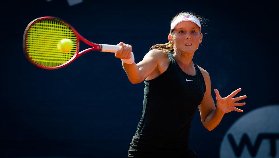 Грачева не смогла выйти во второй круг турнира в Лионе