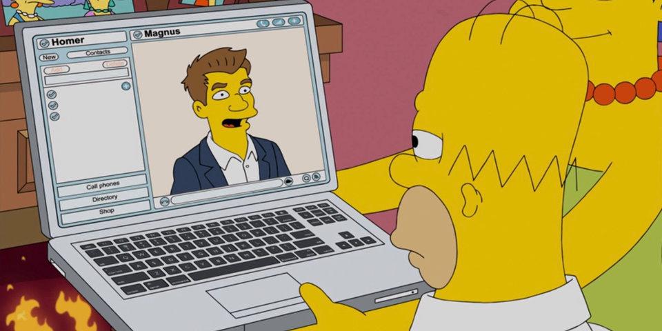 Наставник Гомера Симпсона и соперник Дональда Дака. Карлсен давно стал частью поп-культуры
