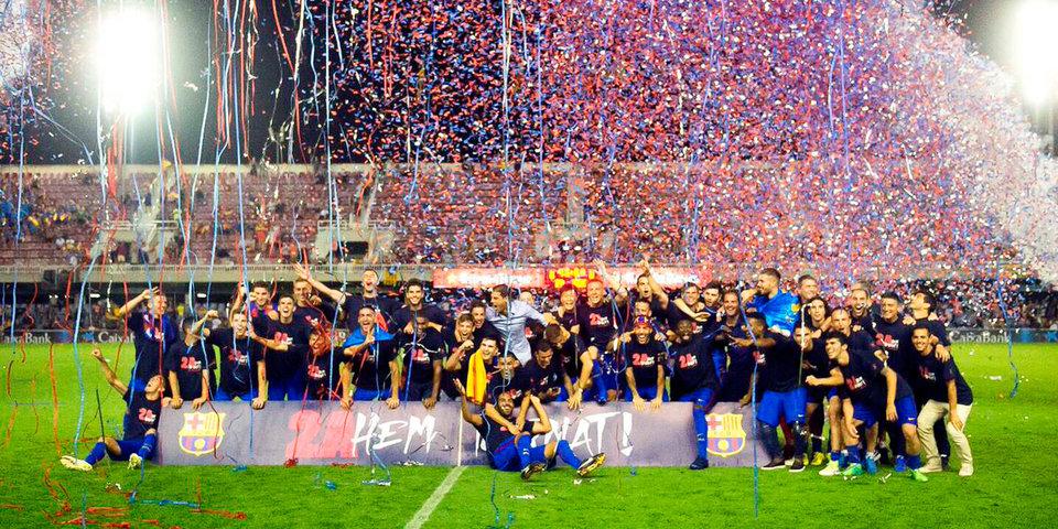 «Барселона В» вернулась во второй дивизион Испании