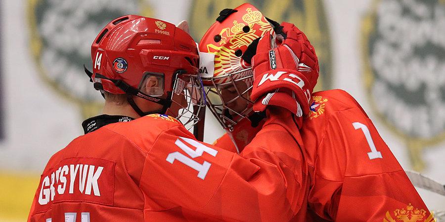 Российские хоккеисты уступили хозяевам ЮЧМ в Швеции. Все голы уже здесь