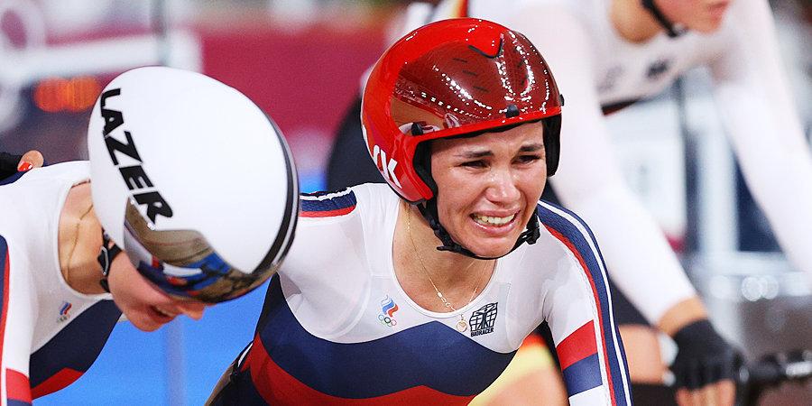 Хатунцева стала победительницей гонки по очкам на чемпионате Европы