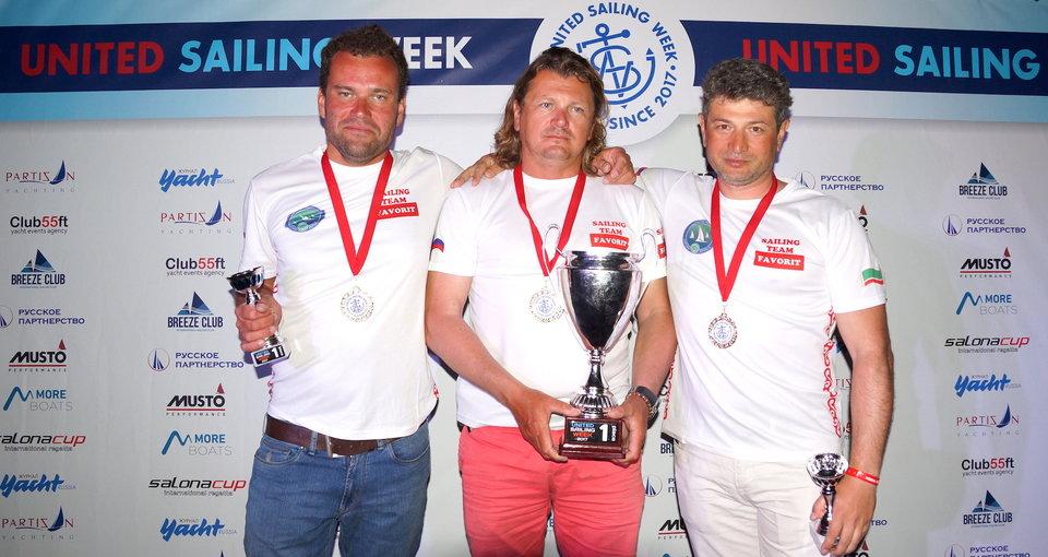 Команда «Фаворит» победила в дивизионе ORC регаты United Sailing Week в Хорватии