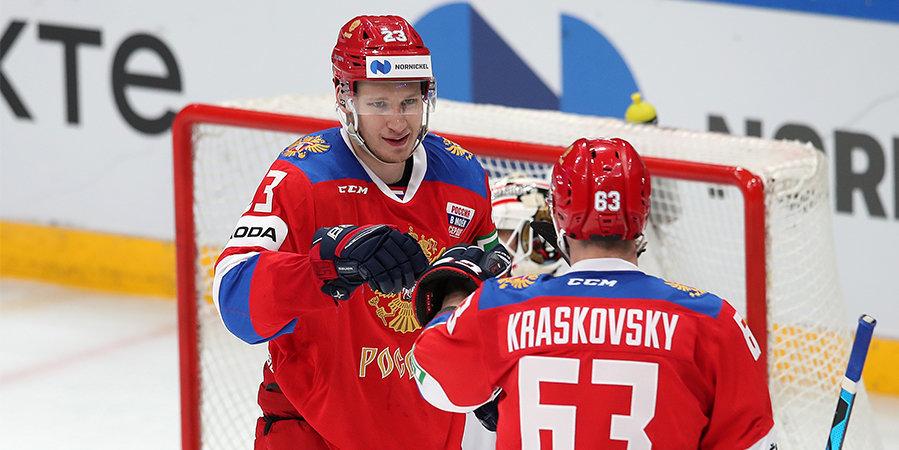 Олимпийская сборная России победила Белоруссию во втором матче Еврочелленджа