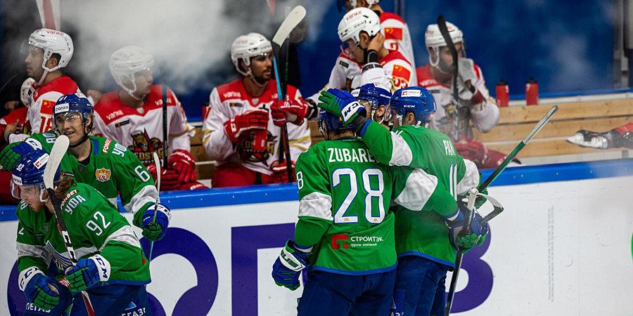 «Салават Юлаев» одержал шестую победу подряд, дома обыграв «Куньлунь»