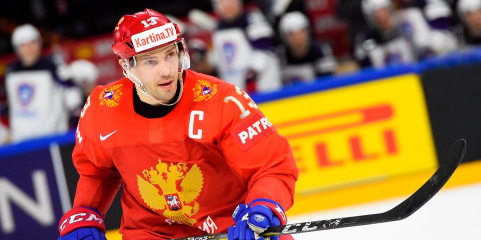 6 хоккеистов сборной России вышли на лед перед матчем с Канадой