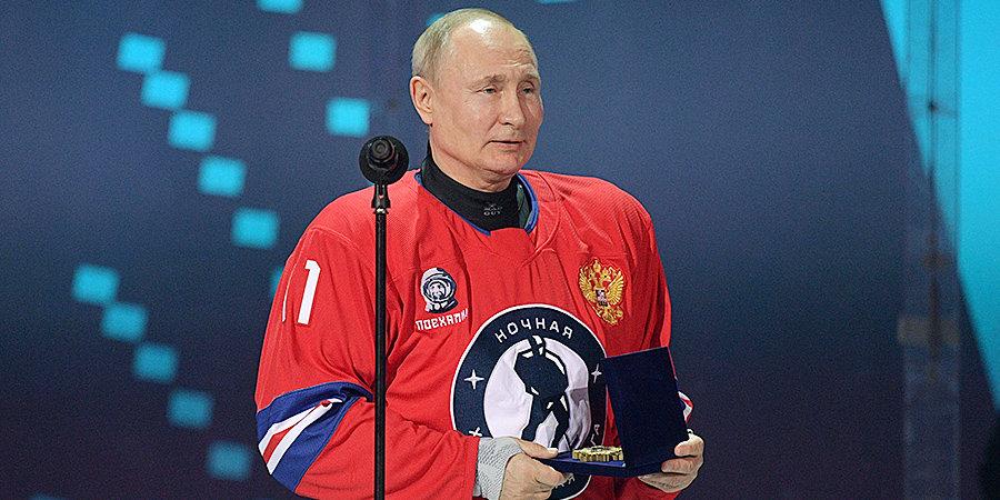 Путин пообещал сыграть в хоккей с жителями Красноярска