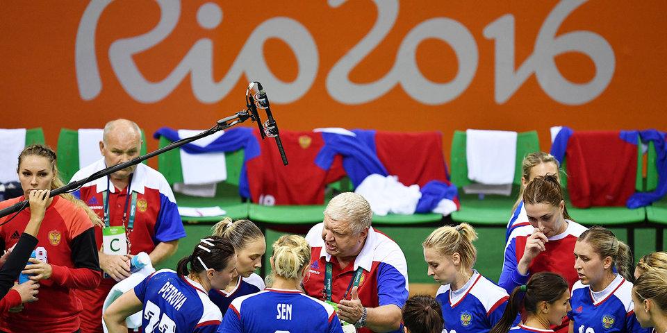Тренерский штаб женской сборной России по пляжному гандболу ушел в отставку