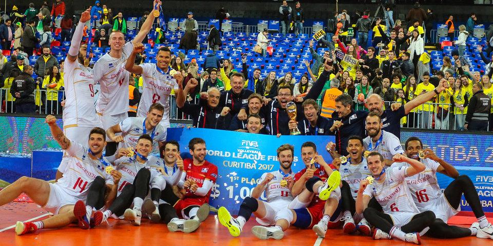 Французы переиграли Бразилию и стали победителями Мировой лиги
