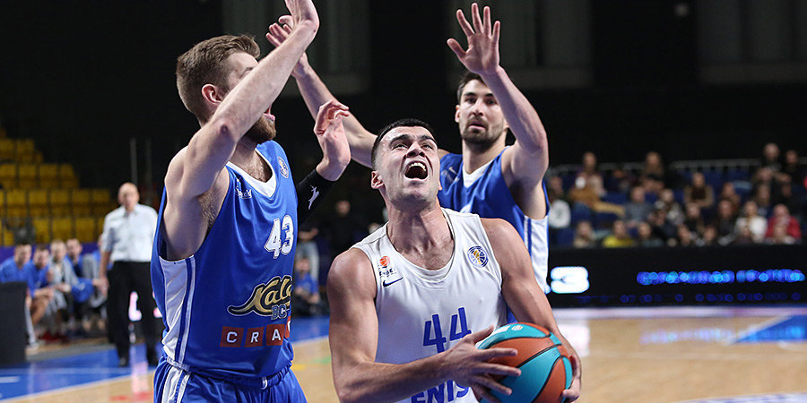 «Енисей» обыграл «Калев», прервав серию из 5 поражений в Единой лиге