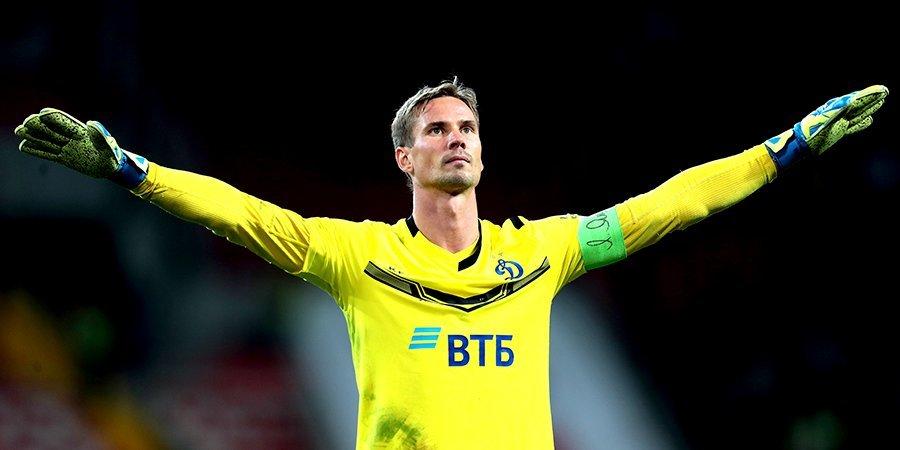 Шунин – лучший футболист «Динамо» в августе