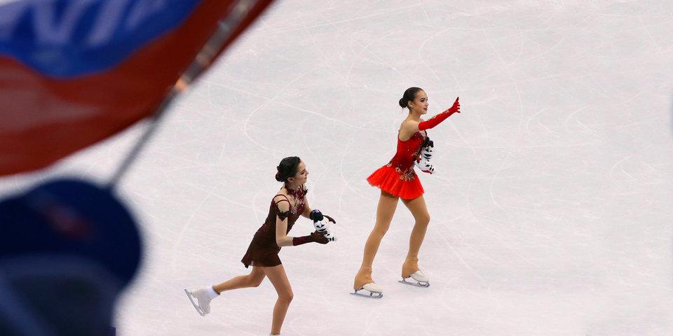 «Надеюсь, что флаг нам вернут». Загитова и Медведева - о Тутберидзе, «Анне Карениной» и мороженом