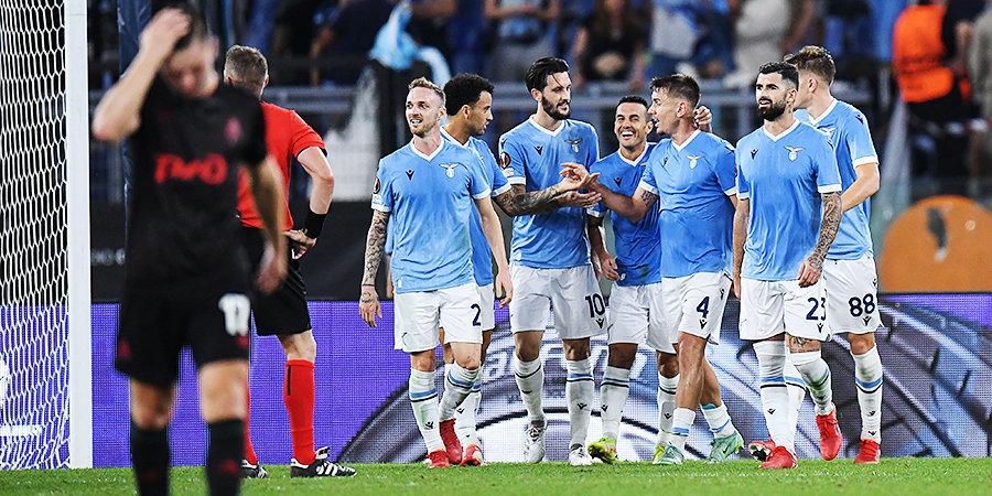 «Локомотив» в Риме уступил «Лацио». Римляне сделали результат за один тайм (Видео)