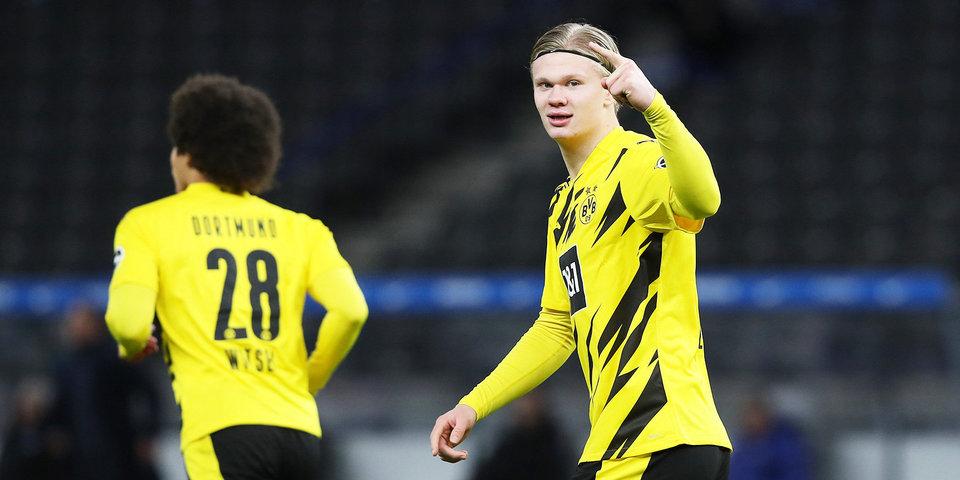 Холанд признан лучшим игроком Бундеслиги в ноябре