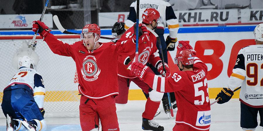«Витязь» по-прежнему лидирует, «Автомобилист» трижды проиграл в гостях, «Локомотив» уволил Мактавиша. Итоги недели КХЛ