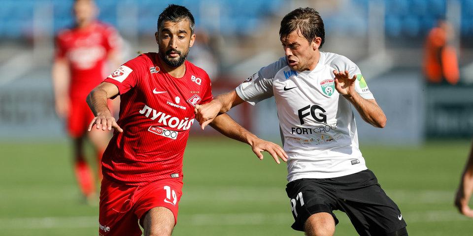 «Спартак» в большинстве потерял победу над «Тосно» за четыре минуты: лучшие моменты