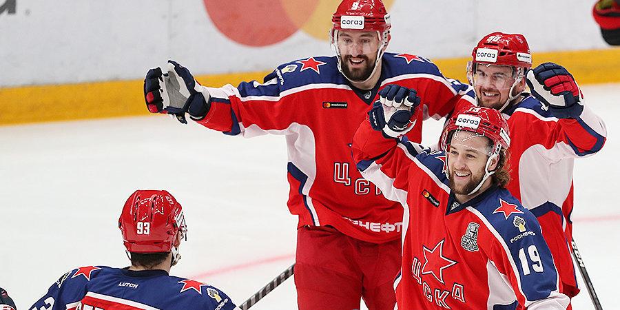 «Авангард» удалялся без конца, и ЦСКА сравнял счет в серии! А после игры Никитин назвал принцип побед, усвоенный им с детства