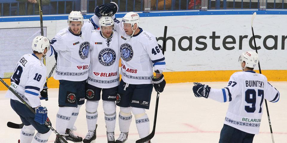 Минское «Динамо» вырвало победу у «Спартака» в матче КХЛ