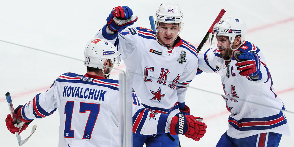 СКА получил Кубок Континента и приз имени Всеволода Боброва