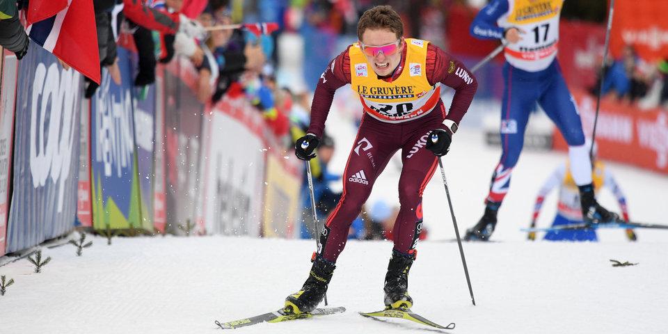 Устроивший завал с лыжниками из России Крюгер выиграл золото скиатлона, Спицов – 4-й