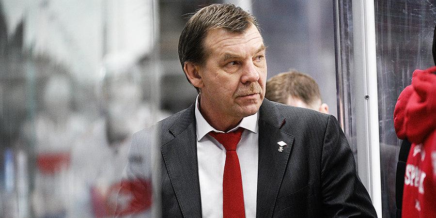 Третьяк сообщил о назначении Знарка на пост главного тренера сборной России