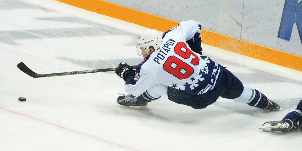 Потапов стал игроком «Авангарда»