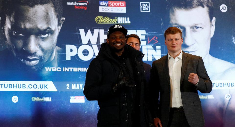 Александр Поветкин: «Не считаю бой с Уайтом своим последним шансом. Готов боксировать, несмотря на возраст»