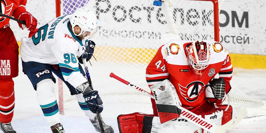 «Сочи» победил «Автомобилист» по буллитам в КХЛ