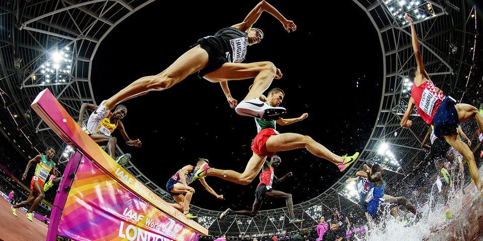 20 мощных фото с чемпионата мира по легкой атлетике