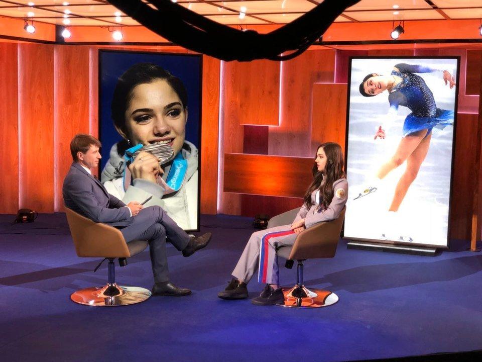Ягудин берет интервью у Медведевой. 1 марта на «Матч ТВ»