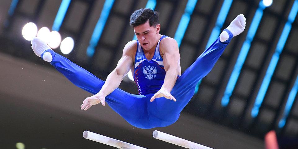 Российские гимнасты уступили 49 тысячных балла китайцам на ЧМ
