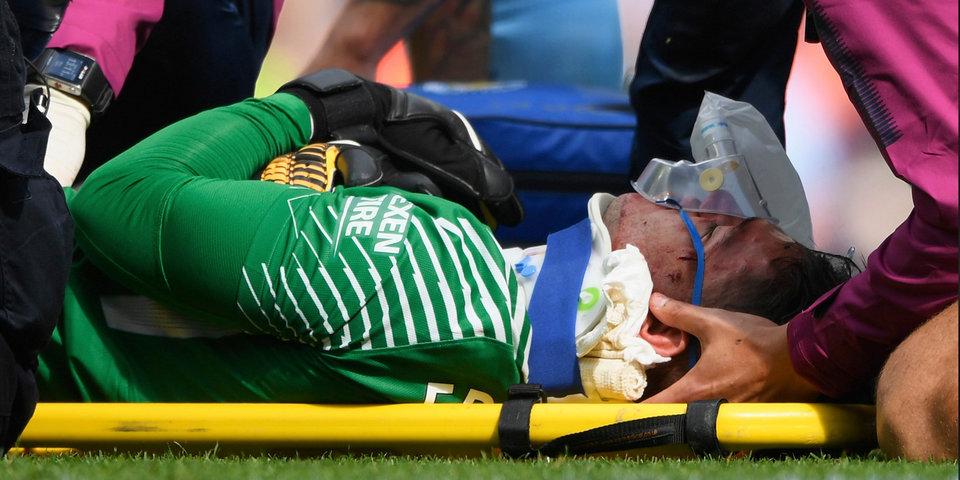 Страшная травма Эдерсона, удаление Мане и провал «Ливерпуля»: голы и лучшие моменты