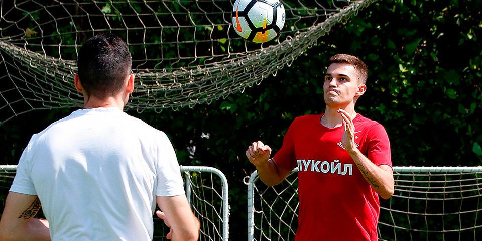 Зобнин тренируется в «Спартаке» по индивидуальной программе