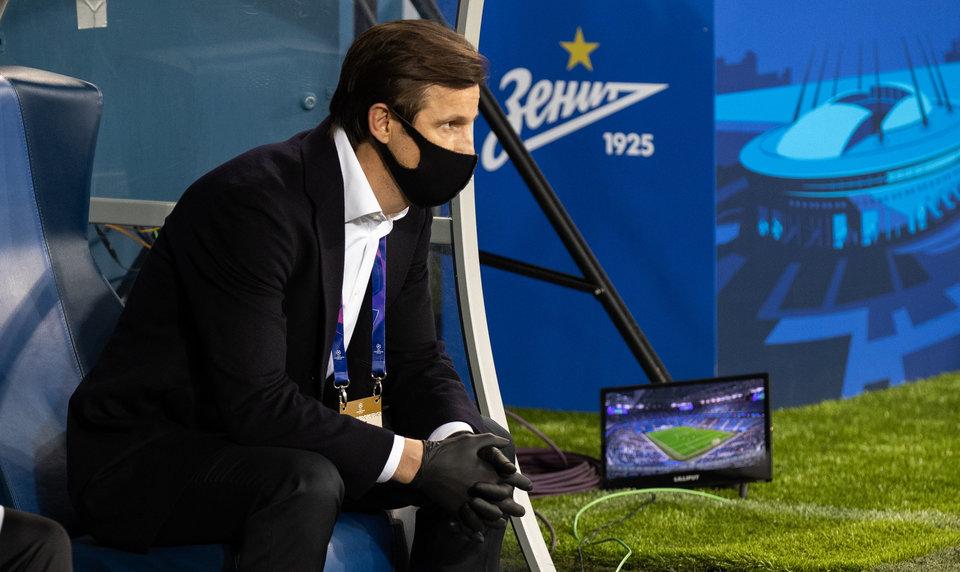 Сергей Семак — о словах Дриусси: «Возможно, ему некомфортно на своей позиции, но на ней он приносит пользу»