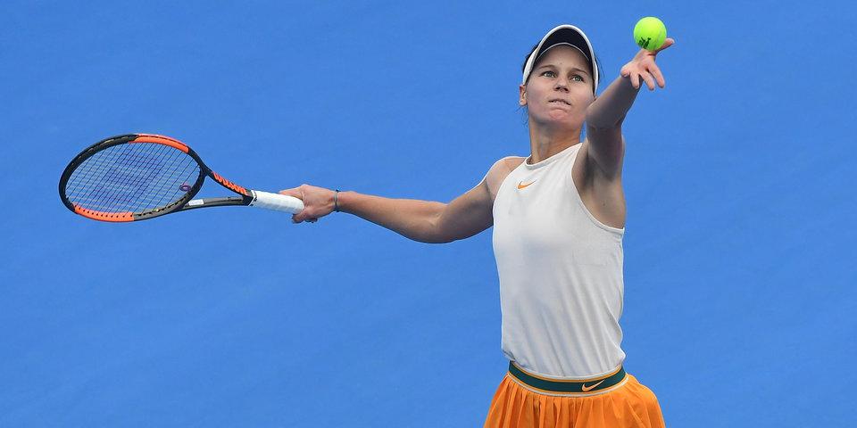 Кудерметова пробилась в 1/8 финала турнира в Китае, впервые в карьере обыграв представительницу топ-10