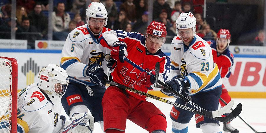 Капризов продолжает восхищать и до ФОНБЕТ Матча звезд КХЛ. Накануне хоккейного праздника ЦСКА снова разгромил ХК «Сочи»
