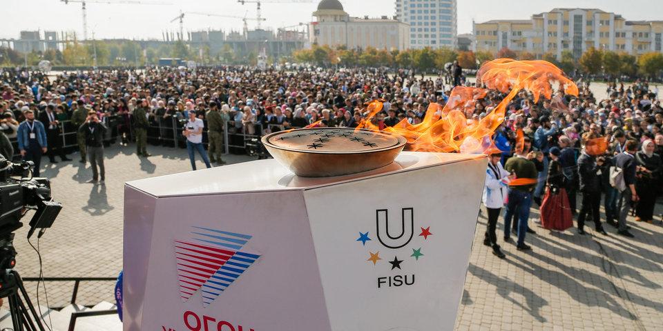 Огонь зимней Универсиады добрался до Иркутска