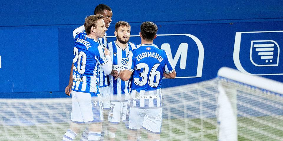 «Реал Сосьедад» обыграл «Эльче», с 11-й минуты игравший в меньшинстве