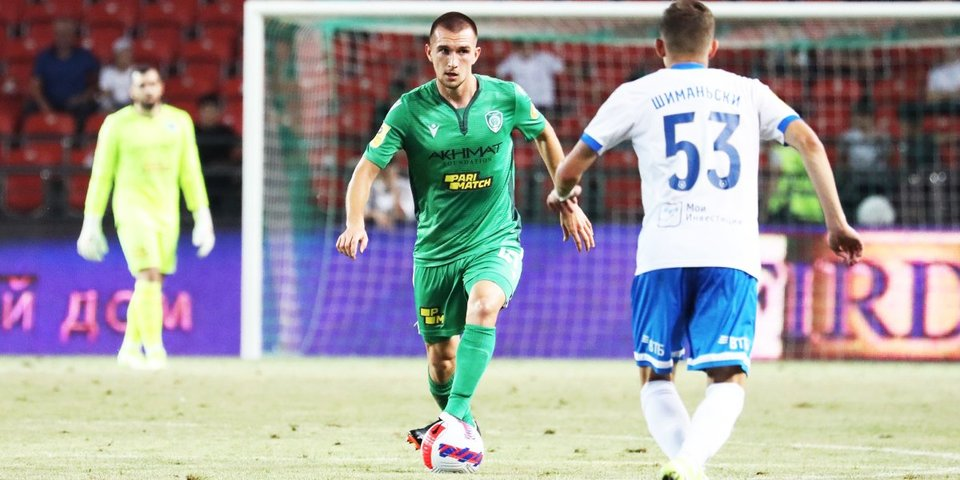 РПЛ внесла поправку в протокол матча «Ахмат» — «Динамо»
