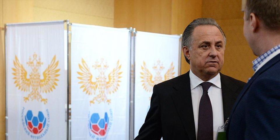 Большинство проголосовало за Мутко, Шпрыгина задержали в туалете. Хроника выборов президента РФС