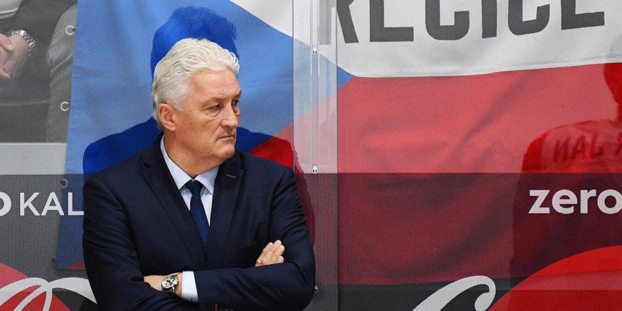 Ржига готов продолжить работу на посту главного тренера сборной Чехии