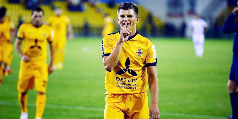 Аршавин получил травму в матче «Кайрата» и выбыл на три недели