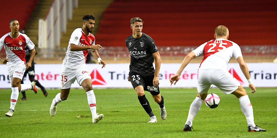 Головин дебютировал в лиге 1, но не помог «Монако» победить «Ним». Голы и лучшие моменты