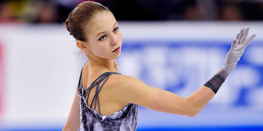 Александра Трусова — о падении с тройного акселя: «Я рисковала всегда и буду делать это дальше»