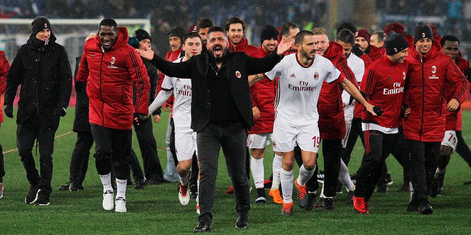 «Милан» ушел от поражения в матче против «Сассуоло»