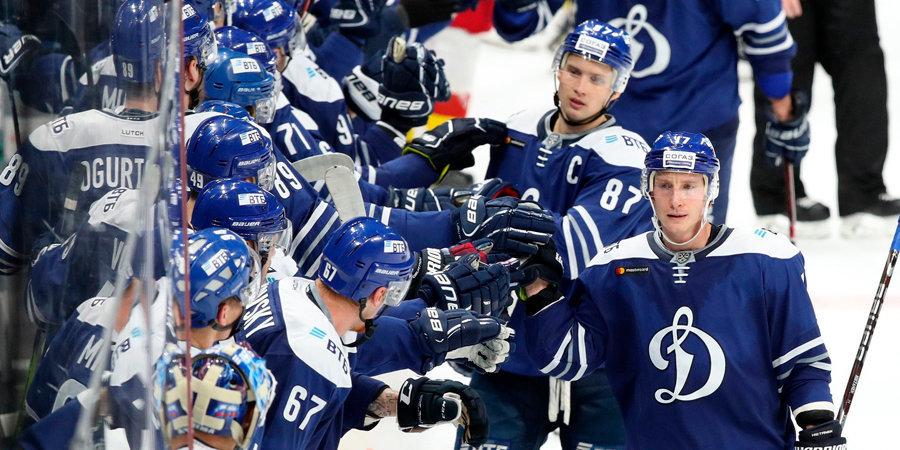Дубль Мозякина не спас «Магнитку» от поражения в Москве